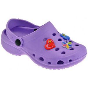 Sandales enfant Medori SandaliSabot violet - Taille 32,34