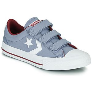 Chaussures enfant Converse Star Player 3V Varsity Canvas jaune - Taille 36,37,38,27,28,29,30,31,32,33,34,35
