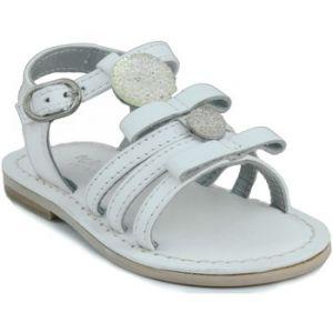 Sandales enfant Oca Loca OCA APRP bébé en cuir sandale - Couleur 20,21,22,25,27,28 - Taille Blanc