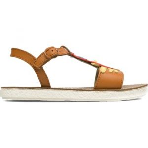 Sandales enfant Camper Sandales cuir TWINS - Couleur 25,26,27 - Taille Marron