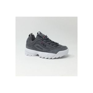 Chaussures Fila DISRUPTOR LOW GRIS Gris - Taille 37,38,40,41