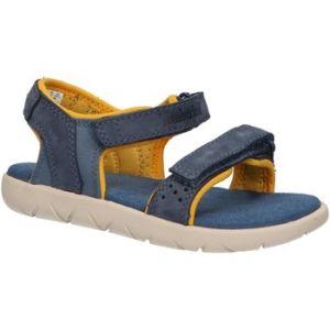 Sandales enfant Timberland A24J7 NUBBLE bleu - Taille 21,22,23,24,25,26,27,28,29,30