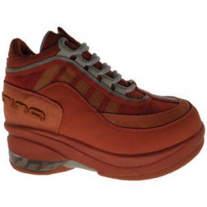 Chaussures enfant Fornarina 1684 Up Talon compensé - Couleur 30 - Taille Orange