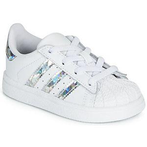 Chaussures enfant adidas SUPERSTAR EL I - Couleur 19,20,21,22,23,24,25,26,27,23 1/2 - Taille Blanc