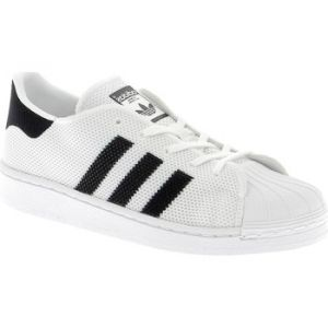 Chaussures enfant adidas SUPERSTAR C/A BIANCHE blanc - Taille 28,29,31