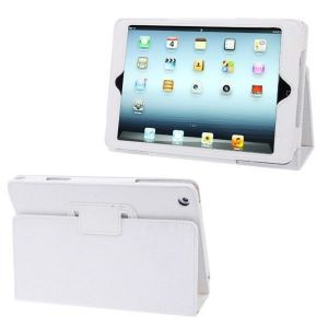 Housse ipad mini étui de protection intégrale support Blanc