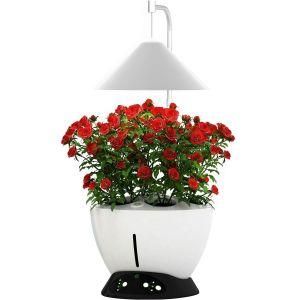 Jardinière avec lampe led intégrée Le potager