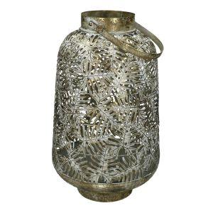 Lanterne ethnique en métal  TROPIC