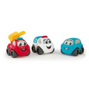 Véhicules Vroom Planet : Coffret 3 mini bolides dont 2 véhicules à thèmes