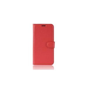 Housse Nokia 5.1 Plus Portefeuille  Grainé