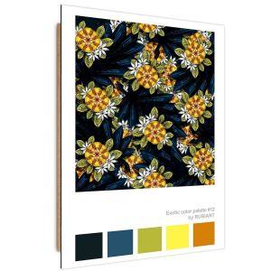 Tableau Modern flowers