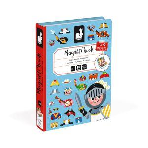 Magnéti'book déguisements garçon, 36 magnets