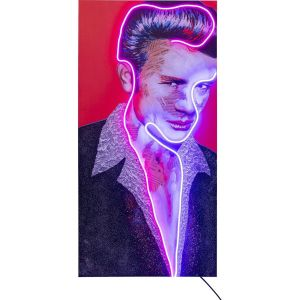 Tableau Touched Idol James Neon 160x80cm
