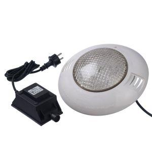 Projecteur LED 350 blanc froid 24W pour piscine bois