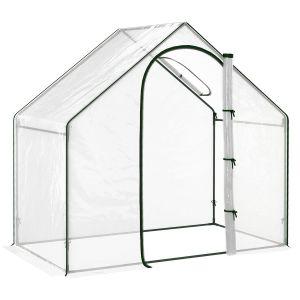 serre de jardin 1,8L x 1,05l x 1,5H m transparent