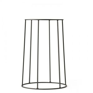 Support Wire 404 Noir H 40 cm pour Lampe à huile - Pot - Tablette Menu