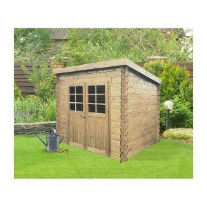 Solid Abri de Jardin Maisonnette Chalet de Jardin Stendal S8605