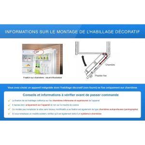 Réfrigérateur intégrable sous plan KU15RA65