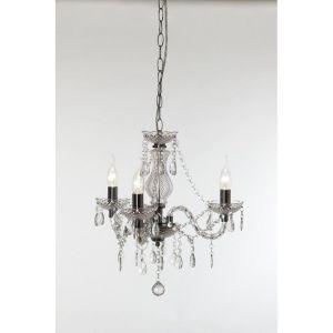 Lustre baroque 3 Lampes