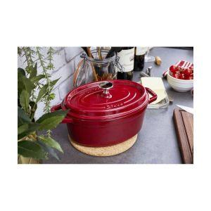 Cocotte 37 cm Bordeaux 8 L