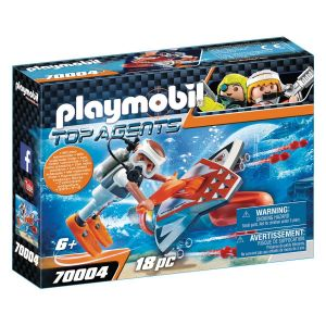 PLAYMOBIL 70004 Top Agents - Propulseur sous-marin Spy Team