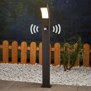 Luminaire extérieur en aluminium moderne LED