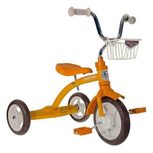 Tricycle retro orange 2-5 ans