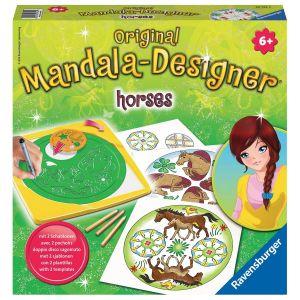 Mandala  - midi - horses