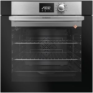de dietrich - four intégrable multifonction 73l 60cm a+ pyrolyse noir/inox - dop7220x