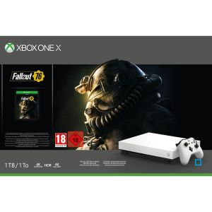 XBOX One X 1To Robot WHITE + Fallout 76 XBOX One