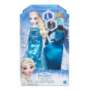 La reine des neiges - poupée et tenues