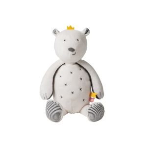 Peluche small Ours blanc Sam Timeless
