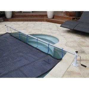 Enrouleur de bâche à bulles Xtra pour piscine hors-sol ou enterrée jusqu'à 5,55 m - Ubbink