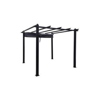 Regia : tonnelle autoportante 3 x 3 m, structure aluminium et toile polyester