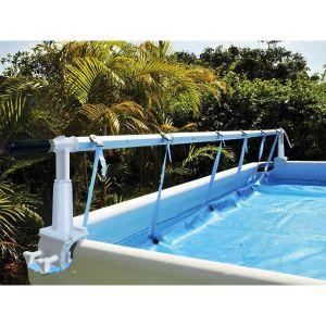 Enrouleur de bâche à bulles Solaris 2 pour piscine hors-sol - Kokido
