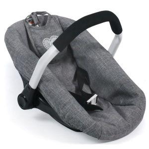 Siège auto pour poupées - Coloris 76 Jeans Grey