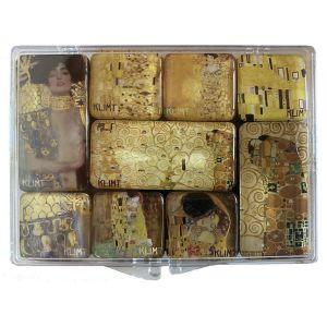 Lot de 9 Mini Magnets Gustav Klimt