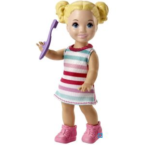BARBIE SKIPPER COFFRET BABYSITTER ET ENFANT - POT - MATFJB01