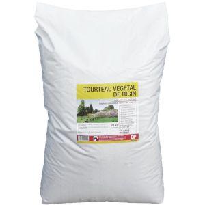 Tourteau de ricin végétale Engrais organique (Sac de 20kg)