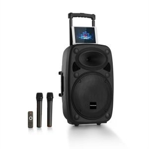 "Streetstar 2.0 12 Système De Sono Mobile Subwoofer 12"" Trolley Bt Usb/Sd/Mp"
