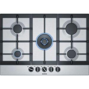 table de cuisson à gaz 75cm 5 feux inox - ec7a5rb90