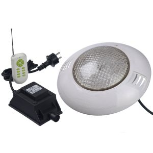 Projecteur LED 406 RGBW 35W pour piscine bois