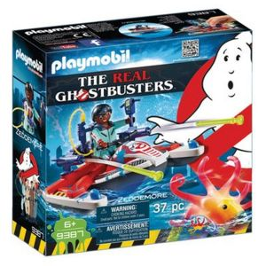 Playmobil 9387 Ghostbuster : Zeddemore avec scooter des mer