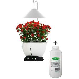 Jardinière avec lampe led intégrée Le potager avec engrais liquide + engrais 1000 ml