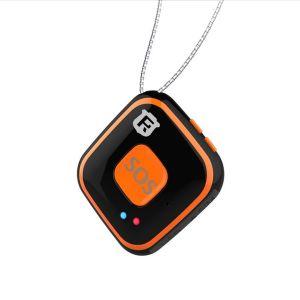 Balise GPS miniature tracker de poche enfant micro espion télésecours SOS noir