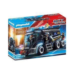 Camion policiers élite sirène gyrophare