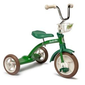 Tricycle rétro en métal vert 10285