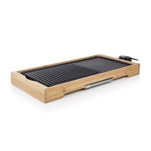 Plancha gril électrique 2200w 51x25,4cm - bp-2641