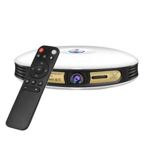 Projecteur Multimédia Vidéoprojecteur Android 4.4 DLP Airplay Miracast 1Go+16Go Bluetooth
