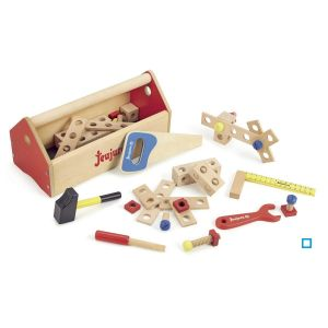 Boite a outils en bois